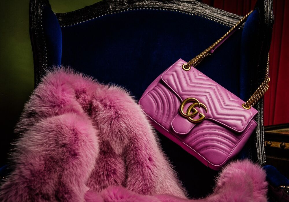 Gucci Pink Bags