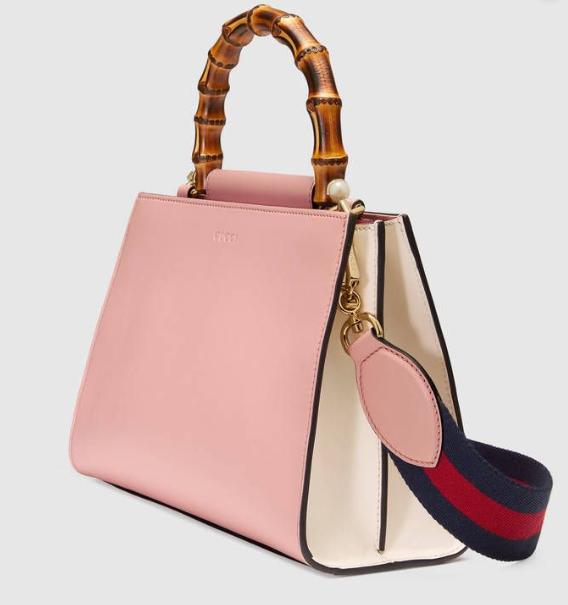 Gucci Nymphaea' Pink leather handbag
