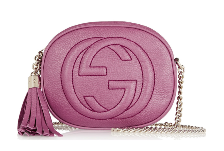 Gucci pink bags.